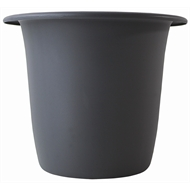 HomeLeisure 350m Charcoal Balconia Round Planter