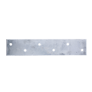 Carinya 375 x 75 x 5mm Galvanised Mending Plate Bracket