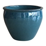 Northcote Pottery 33 x 25cm Prinny Pot - Green