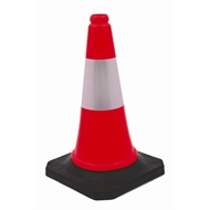 Builders Edge 500mm Soft Traffic Safety Cone