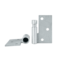 Pinnacle 16mm Gal Rh Double Butt Security Gate Hinge