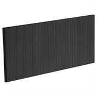 Kaboodle 600mm Modern 1 Drawer Panel - Black Forest