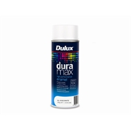Dulux Duramax 340g Gloss Spray Paint - Vivid White