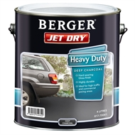 Berger Jet Dry 4L Heavy Duty Deep Charcoal Paving Paint