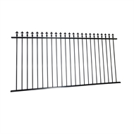 Protector Aluminium 2450x1200mm Custom Spear Top Pool Fence Panel