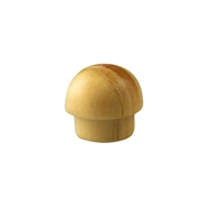 Pinnacle 8mm Pine Cover Buttons - 20 Pack