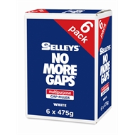 Selleys 475g No More Gaps Multipurpose Filler - 6 Pack