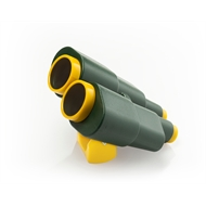 Swing Slide Climb Green / Yellow Plastic Binoculars