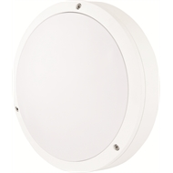 Brilliant 18W Elliot Round Bunker Exterior Wall Light