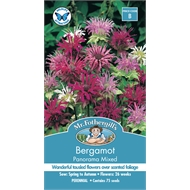 Mr Fothergill's Bergamot Panorama Mix Seeds