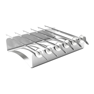 Matador Stainless Steel Skewer Rack and Skewers