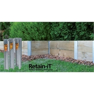 Whites Outdoor 450 x 75mm Retain-iT End Post