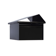 Sandleford Black Tiger Post Mounted Letterbox