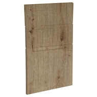 Kaboodle 450mm Spiced Oak Country 3 Drawer Panels