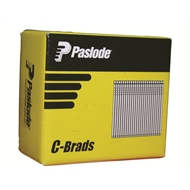 Paslode 50 x 1.6mm Galvanised Pneumatic C Brads - 3000 Pack