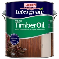 Intergrain 4L Natural Exterior Nature's Timber Oil