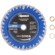 Kango 230mm Segmented Ultra Thin Turbo Diamond Blade