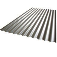 Fielders 840 x 16mm x 2.4m Corrugated Zinc Steel Roofing