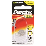 Energizer Lithium 1220 Coin Battery - 1 Pack