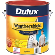 Dulux Weathershield 4L Gloss Extra Bright Exterior Paint