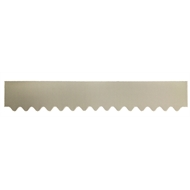 GumLeaf 1200mm Colorbond Metal Corrugated Gutter Guard - Shale Grey