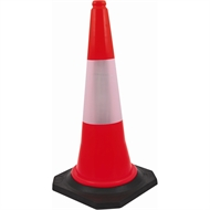 Builders Edge Safety 750mm Soft Traffic Safety Cone