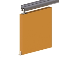 Cowdroy 915mm 50kg Top Fix Aluminium Forerunner Door Track