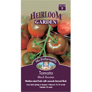 Mr Fothergill's Black Russian Tomato Heirloom Seeds