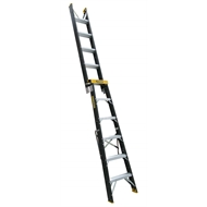 Gorilla 1.8-3.2m 120kg Fibreglass Dual Purpose Double Sided Ladder