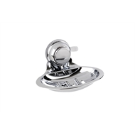 Naleon Chrome Super Suction Soap Dish