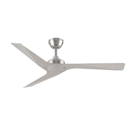 Threesixty 52 Inch Brushed Nickel  Modn-3 Ceiling Fan