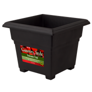 HomeLeisure CountryStyle 355mm Black Tomato Tub