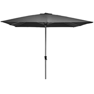 Marquee 3m Charcoal Square Jasper Market Umbrella