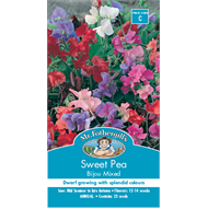 Mr Fothergill's Sweet Pea Bijou Mixed Flower Seeds