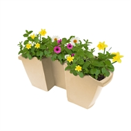 Whites 40cm Latte Garden Up Pergola Pot