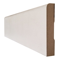 Hume Doors & Timber 67 x 18mm x 5.4m Pencil Round Primed MDF Moulding