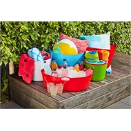 Ezy Storage 42L Assorted Colours Storage Tub