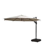 Coolaroo Melaleuca 3.5m Natural Round Cantilever Umbrella