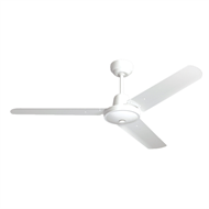 HPM 1200mm White Hang Sure Ceiling Fan