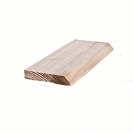 Tasmanian Oak Single Bevel Architrave 65 x 12mm x 2.4m Select Grade