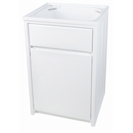 Everhard 45L Project Polymer Bowl And Laundry Cabinet