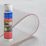 Coolaroo 3m x 1.83m Wide White 50% Garden Cover Shade Cloth
