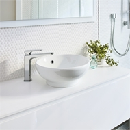 Stylus Allegro Above Counter Basin With No Tap Holes