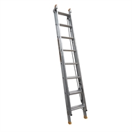 Gorilla 2.4-3.9m 150kg Aluminium Industrial Extension Ladder