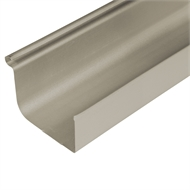 COLORBOND® Steel 0.42 x 115mm Quad Gutter - Paperbark