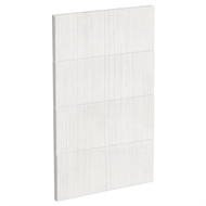 Kaboodle 450mm White Forest Modern 4 Drawer Panels