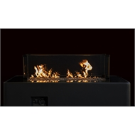 Decofire 122 x 61 x 99cm Gas Fire Table - Graphite