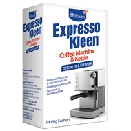 Hillmark 40g Expresso Kleen Appliance Descaler And Cleaner - 3 Pack