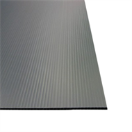 Tunnelcore 2250 x 1220 x 2.5mm Black Double Walled Plastic Board