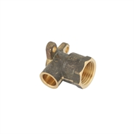 Kinetic 15CX x 15FI Lugged Female Brass Capillary Elbow